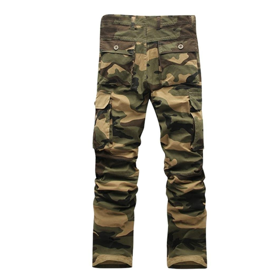 Allywit Big and Tall Men's Outdoor Casual Military Tactical Cargo Pants/Trousers Work Pant for Men by Allywit (Image #2)