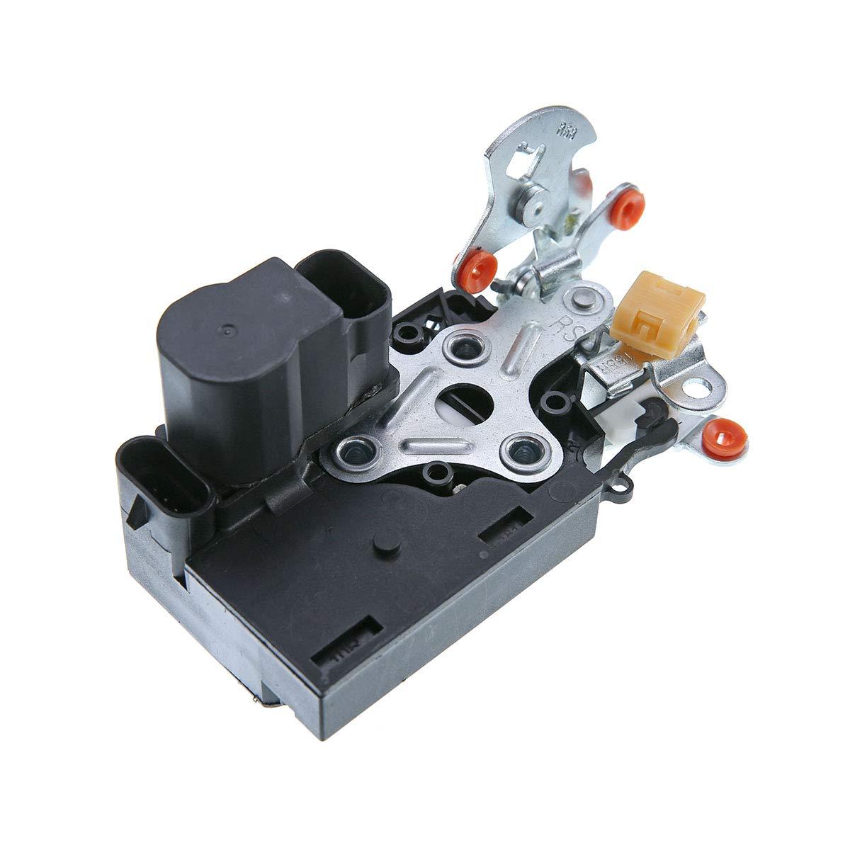 A-Premium Door Lock Actuator Motor for Chevrolet Trailblazer GMC Envoy 2008-2009 Front Right Passenger Side