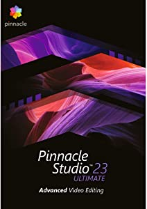 Pinnacle Studio 23 Ultimate - Advanced Video Editing and Screen Recording [PC Download]