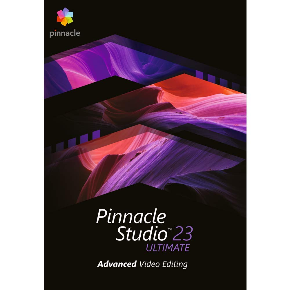 Pinnacle Studio 23 Ultimate - Advanced Video Editing and Screen Recording [PC Download] by Pinnacle