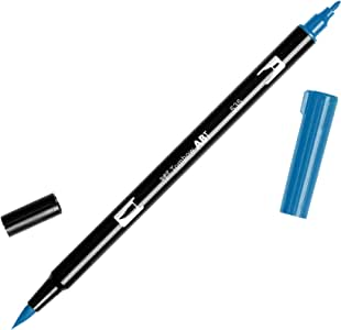 Tombow Dual Brush Pen Art Marker, 535 - Cobalt Blue, 1-Pack
