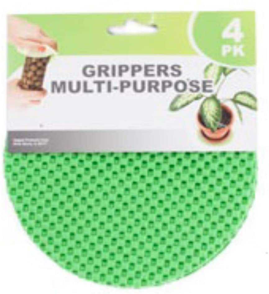 May Sprigs Round Rubber Non-Slip Jar Gripper Lid Opener