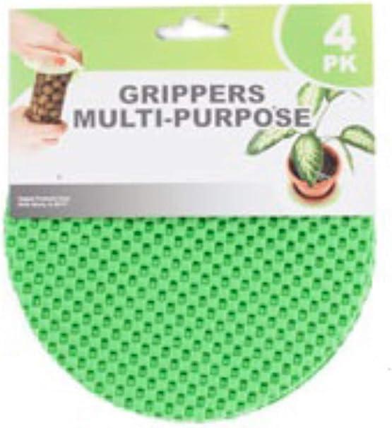 4 Piece Regent Round Multi-Purpose Jar Gripper Pad Bottle Lid Opener