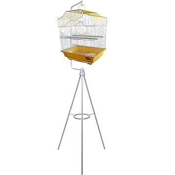 Jaula para pájaros con trípode Heritage