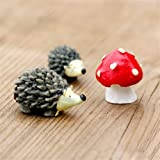 Danmu Resin Mini Hedgehogs and