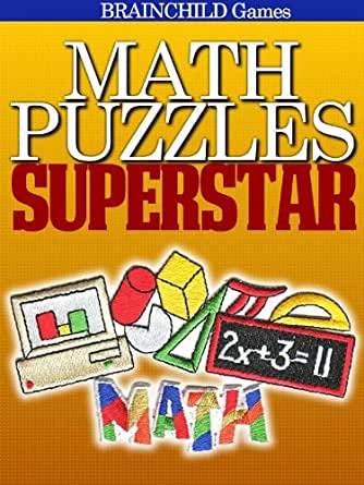 Math Puzzles SUPERSTAR - Kindle edition by BRAINCHILD Games. Humor ...