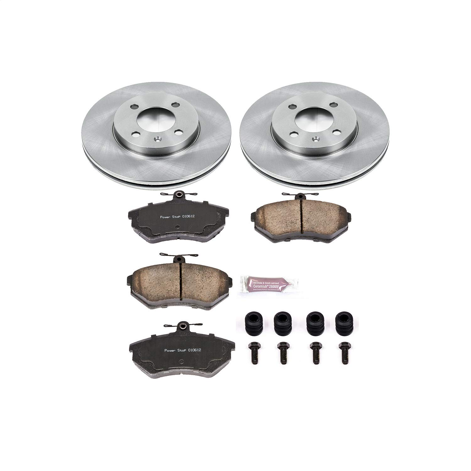 Autospecialty KOE374 1-Click OE Replacement Brake Kit
