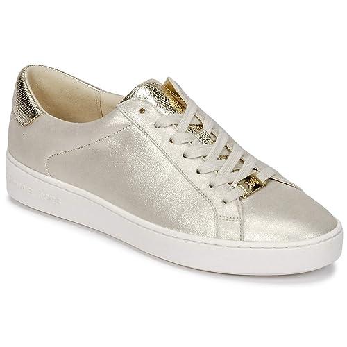 Michael by Michael Kors Zapatos Irving Zapatillas de Ante Champagne Mujer 39 Champagne: Amazon.es: Zapatos y complementos