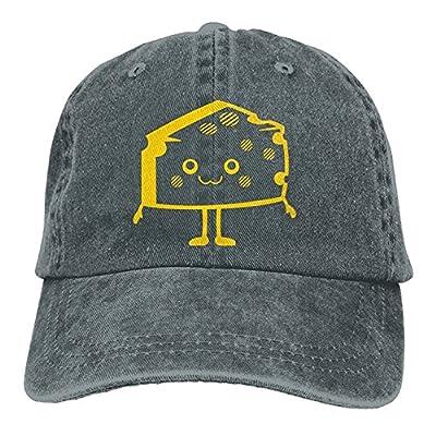 DIYoDGG Cartoon Cheese Men Denim Hat Adjustable Women's Great Baseball Hat