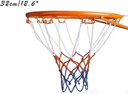 Hanging Basket Basketball Goal Hoop Rim Net 32cm Wall Mounted Indoor Outdoor