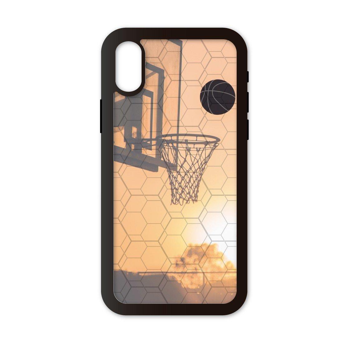 Funda móvil Compatible con iPhone X/XS Baloncesto Canasta. Carcasa ...