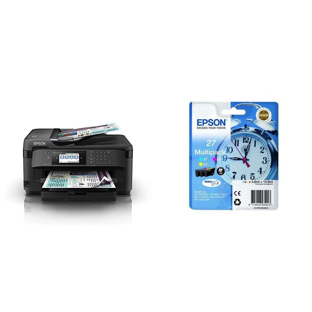 Epson WorkForce WF-7710DWF 4800 x 2400DPI Inyección de tinta A3 ...