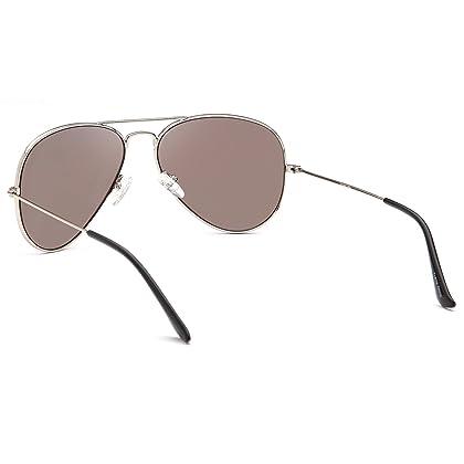 4ea94b2546 JETPAL Premium Classic Aviator UV400 Sunglasses w Flash Mirror Lenses -  Choose From Adult or Kids