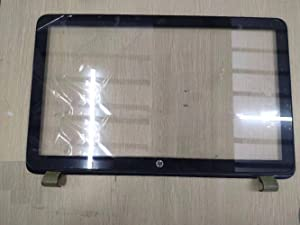 "15.6"" Touch Screen Glass Digitizer with Bezel Frame For HP 15-F100dx 15-F110dx 15-F199NR (Display LCD not Included)"