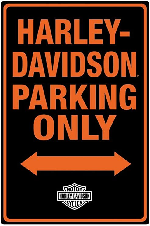 Harley-Davidson Neon Design Embossed Bar /& Shield Tin Sign 19 x 12 in 2011381