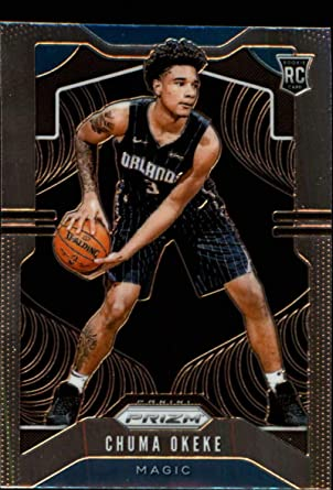 Amazon.com: 2019-20 Prizm NBA #262 Chuma Okeke RC Rookie Orlando Magic Official Panini Basketball Trading Card: Collectibles & Fine Art