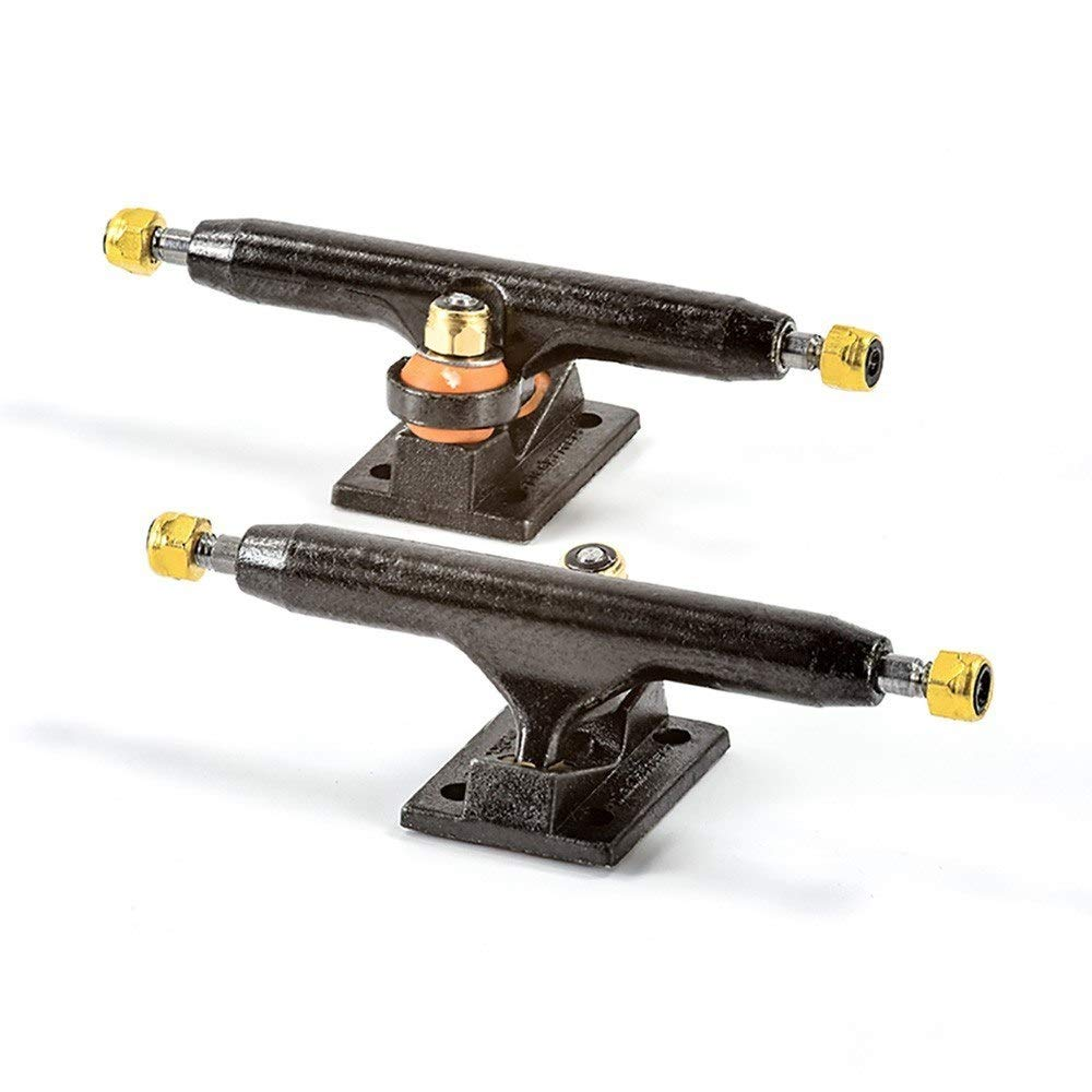 Blackriver X-Wide 2.0 Fingerboard Trucks - 34mm (Black/Black) by Blackriver Ramps (Image #1)