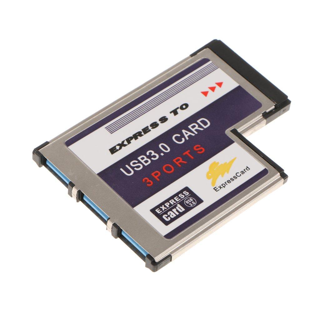 3Puertos USB3.0 54 Mm Tarjeta Express Convertidor Tarjeta ...