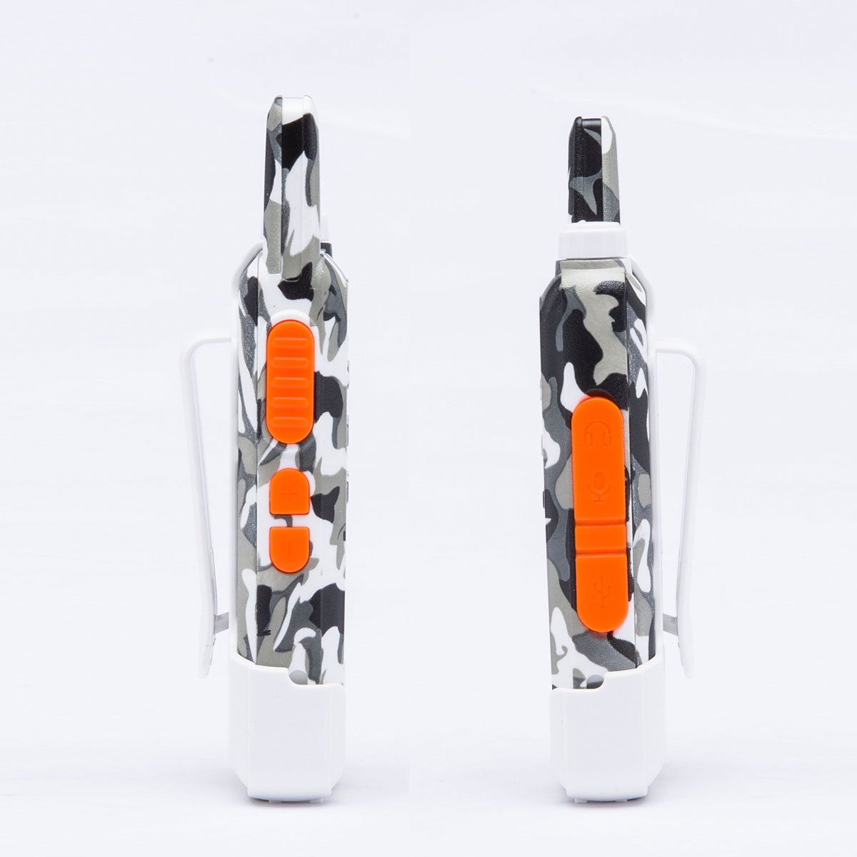 2 Way Radio Walkie Talkies Long Range for Outdoor Camping Hiking Hunting Activities LT-316 Military Camo Mini Uhf Rechargeable Two-Way Radio 5-10 Miles Back to School Ideal Gifts by LUITON (2 Pack) by LUITON (Image #3)