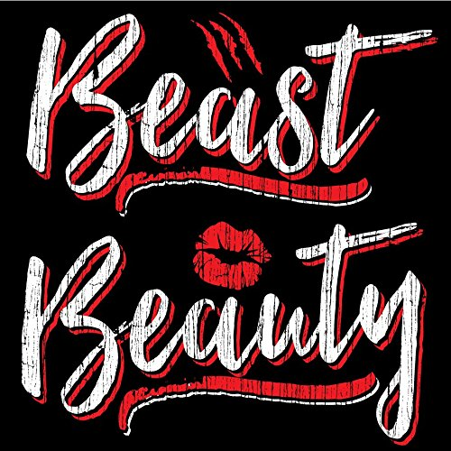 Matching Shirts for Newlyweds, Beauty Beast Shirts, Ladies Medium & Mens Large