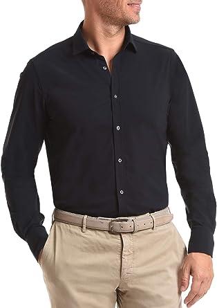 Wave Futura - Camisa de Hombre New York: Tejido técnico, Slim ...