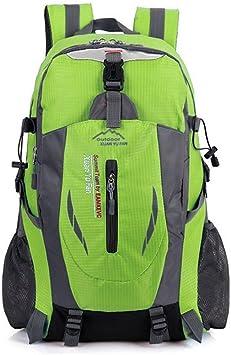 Mochila de senderismo mochila 40L resistente al agua senderismo mochila montañismo mochila para viaje escalada ciclismo running Camping Deportes al ...