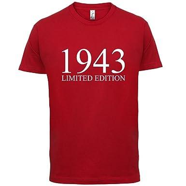 1943 Limierte Auflage/Limited Edition - 75. Geburtstag - Herren T-Shirt -