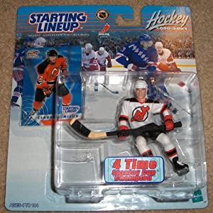 2000-2001 STARTING LINEUP - CLAUDE LEMIEUX of the NEW JERSEY DEVILS