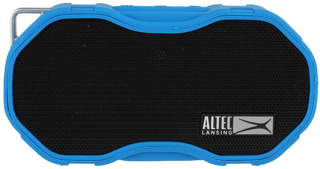 Altec Lansing Baby Boom XL Portable Bluetooth Speaker, Waterproof Portable Speaker with Deep Bass and Loud Sound, 100 Feet Bluetooth Range for Travel, Sports, Home, Parties Outdoors… (Blue)