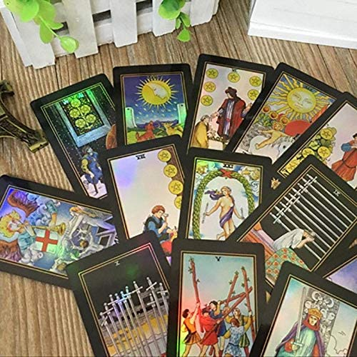 Tarot Cards Deck 78pcs Vintage Board Game Colorful W//Colorful Card+Box