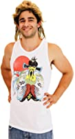 Big Trouble in Little China Tank Top and Wig Costume Set