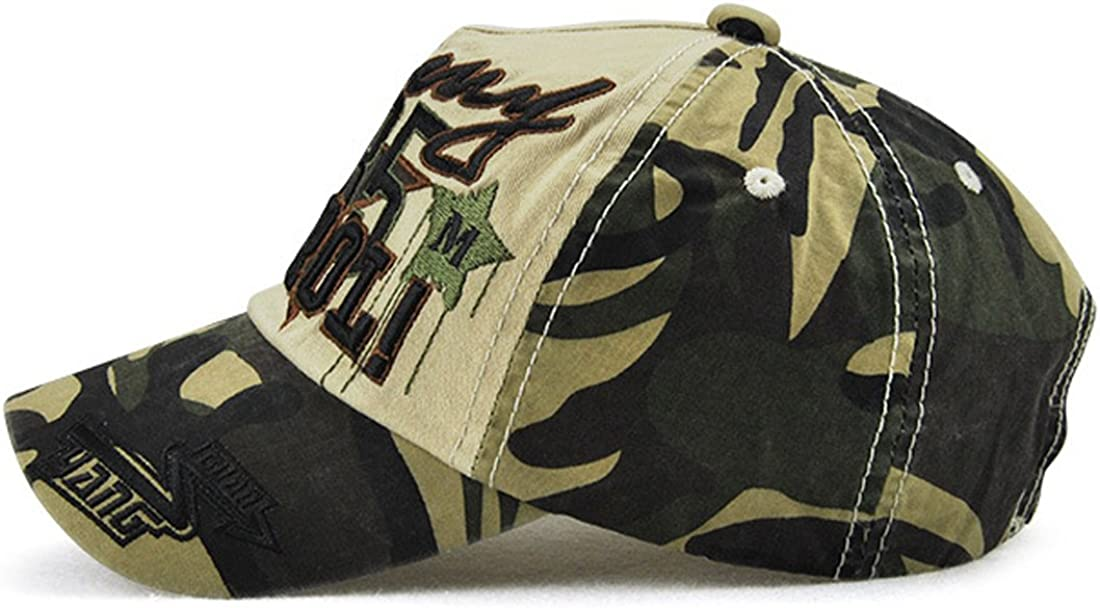 YueLian Boys Camouflage Army Style Summer Spring Sports Children Baseball Cap