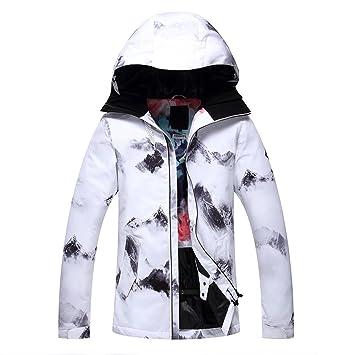 323a120b42 HOTIAN Women Snow Jacket Waterproof Windproof Ski Jacket Wear Hooded Fleece  SKi Suits