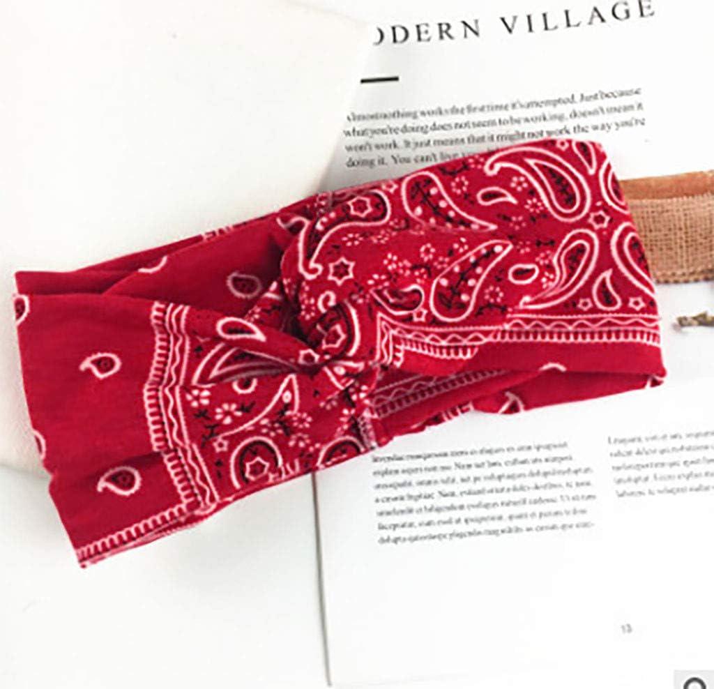 Yukong - Diadema elástica Ligera y Suave para Mujer, Ideal para ...