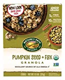Nature's Path Organic Pumpkin FlaxPlus Granola, Pumpkin Seed + Flax, 11.5 Oz (Packaging may vary)