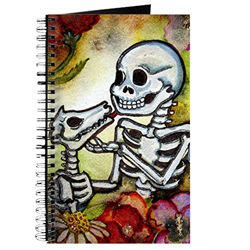 CafePress Mans Best Friend Spiral Bound Journal Notebook, Personal Diary, Lined