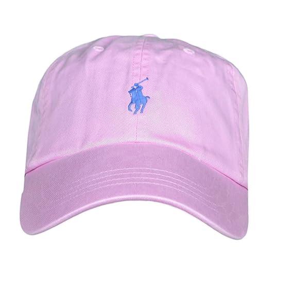 Ralph Lauren Casquette Rose Logo Bleu Mixte  Amazon.fr  Vêtements et  accessoires a4a3e972069