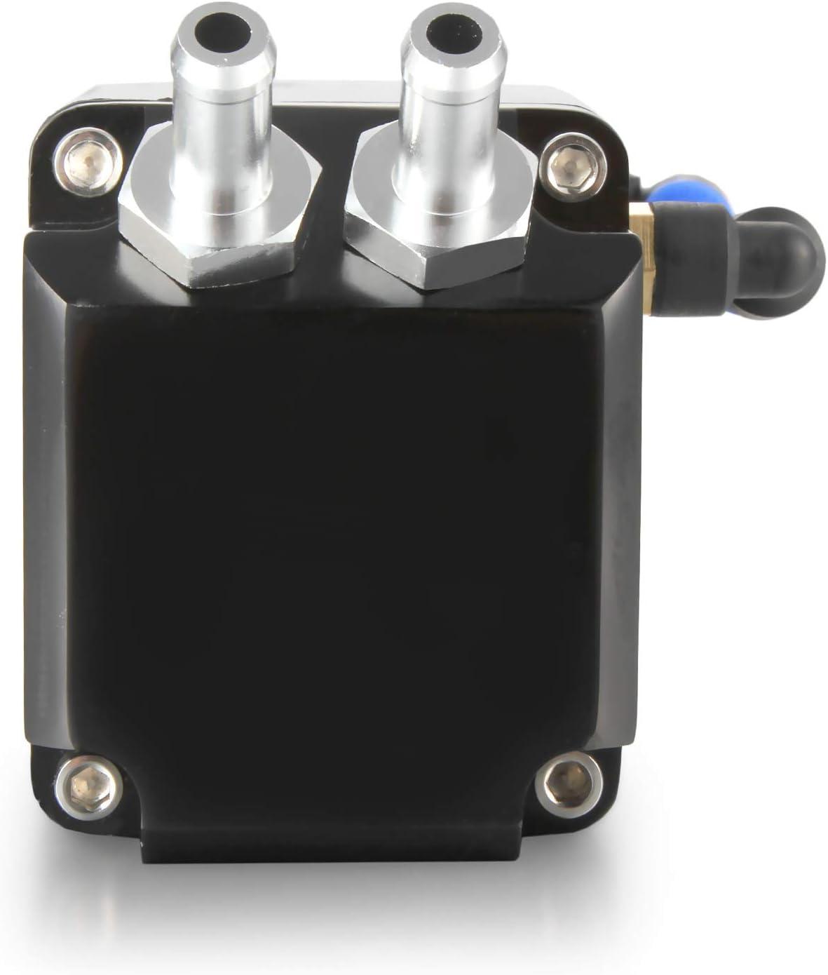 Madlife Garage Universal 750 ml olio separatore con filtro olio contenitore di raccolta Oil Tank olio raccogli olio contenitore olio