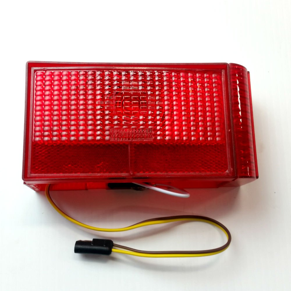 Shorelander Boat Trailer Tail Lights Wiring Harness Left Side Light Curved Inside Sports Outdoors 1000x1000
