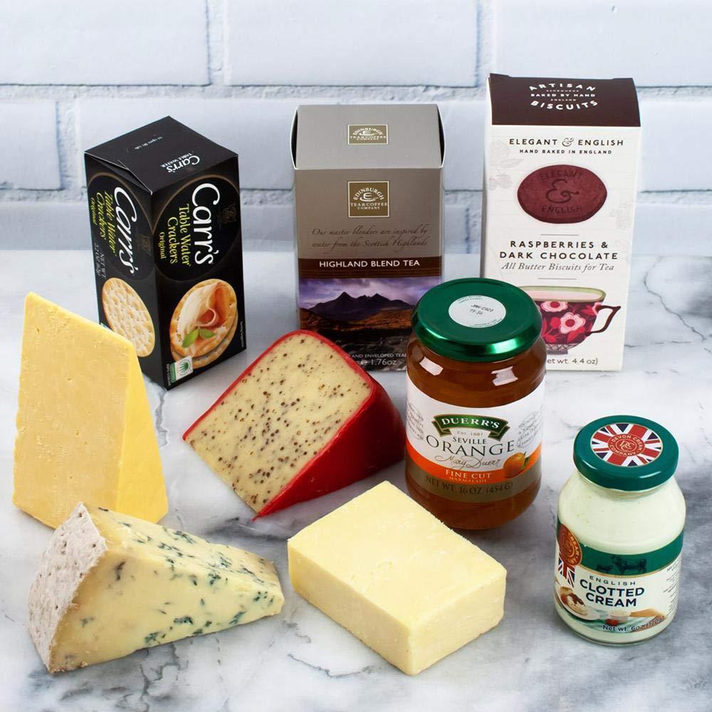 igourmet A Little Bit of Britain - British Specialty Foods Gift Basket (3.9 pound)