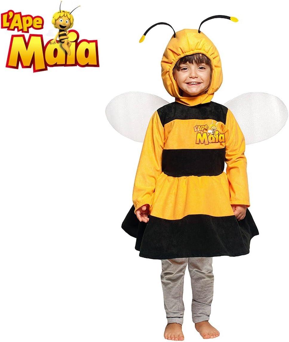 984098 Disfraz de niña para carnaval motivo ABEJA MAYA (1 a 7 años ...