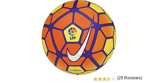 Nike Strike LFP - Balón Unisex, Color Amarillo/Naranja/Morado ...