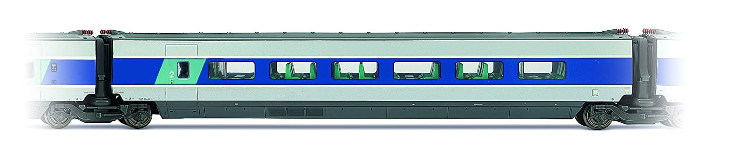 Jouef Intermediate Car 2nd Class TGV  –   SNCF South East, hj4116 Hornby