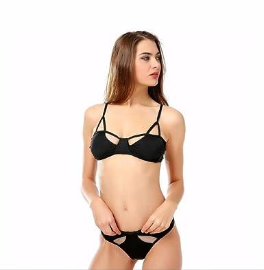 d1d9a78b37b WBXZAL-Bikini New Black Sexy Bikini, European and American Pure ...