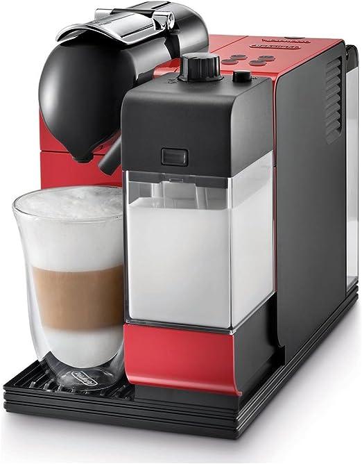 De Longhi en521r Nespresso Lattissima más café – Red: Amazon.es: Hogar