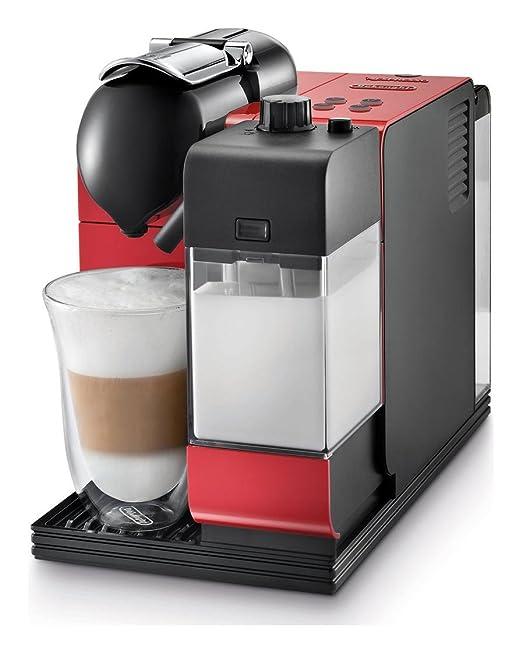 De Longhi en521r Nespresso Lattissima más café - Red: Amazon.es: Hogar