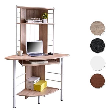 SixBros. Office - Scrivania ufficio porta pc angolare - quercia - B ...