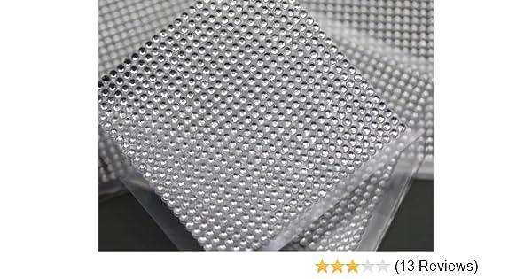b14737af93 Amazon.com: 3mm SS12 Crystal Acrylic Self Adhesive Rhinestones - 1 Sheet