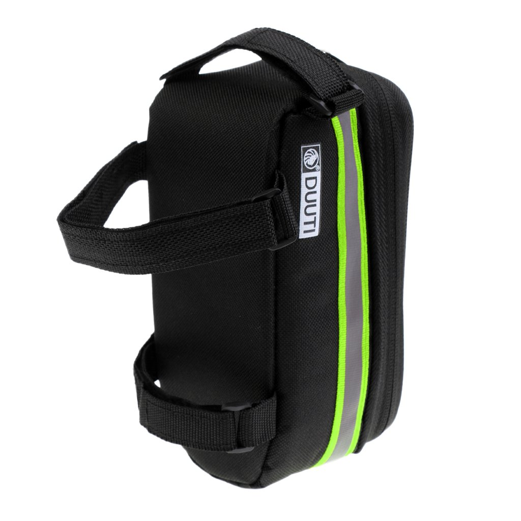 simhoa Waterproof Bicycle Frame Bag Cell Phone Touch Screen Front Top Holder Bag