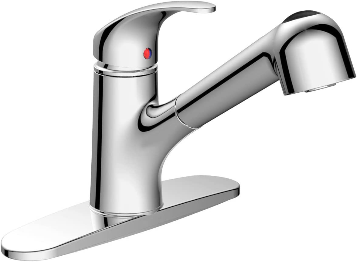 Pull Out Kitchen Sink Faucet Aosgya Single Handle Kitchen Faucet
